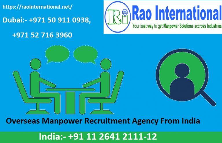 Overseas Recruitment Agencies In India