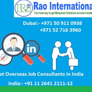 Best Overseas Job Consultants in India