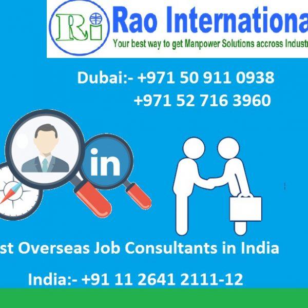 Best Overseas Job Consultants in India