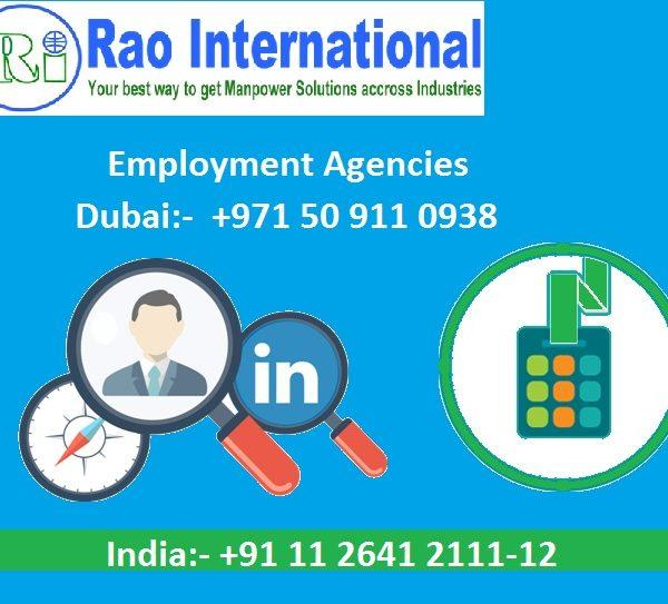Employment agencies In Dubai & India