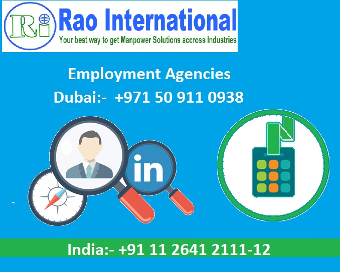 Employment agencies In Dubai & India