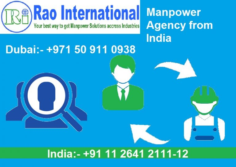 manpower agency from india