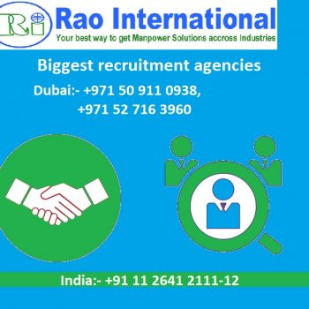 Biggest recruitment agencies in Dubai