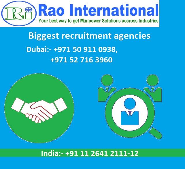 Biggest recruitment agencies in Dubai