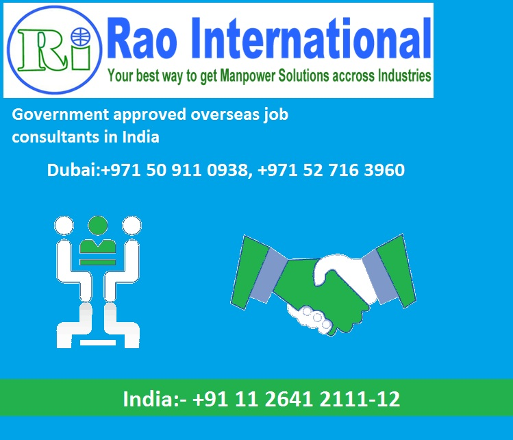 Government approved overseas job consultants in India