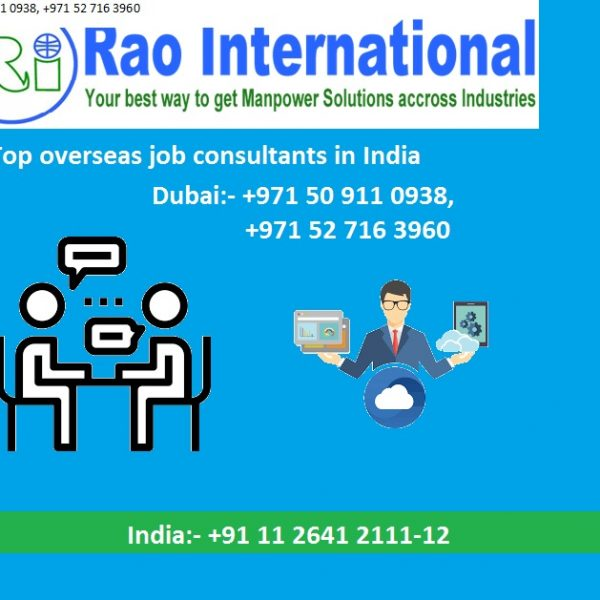 Top overseas job consultants in India